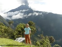 Me and El Vulcan Tungurahua