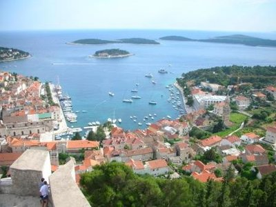 View Over Hvar