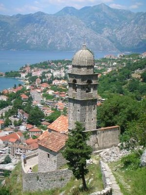Church over looking Kotor