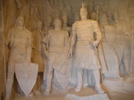 Skanderbeg and his crew