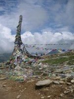 Prayer Flags Summit of Rohtang Pass