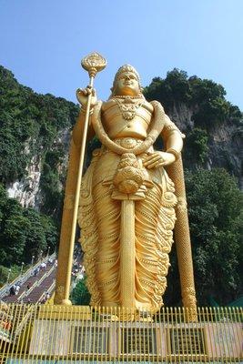 Lord Murugan at Batu Caves