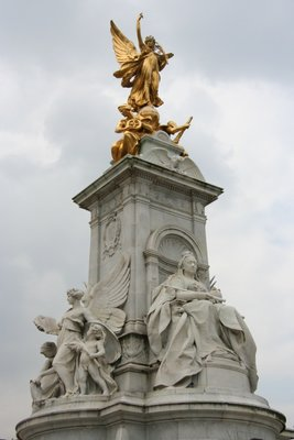 Queen Victoria Memorial at Buckingham Palace
