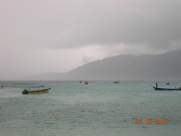 Morning storm at Perhentian Islands