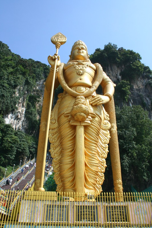 Lord Murugan at Batu Caves