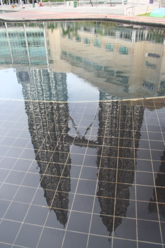 Petronas Twin Towers Reflection