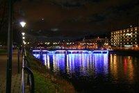 Malmo Centrum at night
