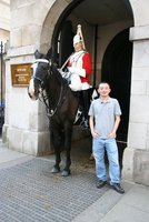 Me and The Life Guards of the Household Cavalry