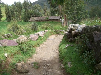 The path to the Inca family.