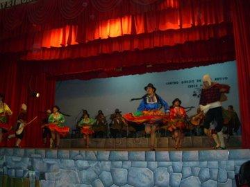 Folklore show in Cuzco