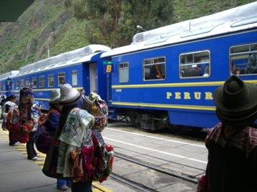 Train to Machu Piccu