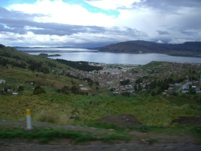 Lake Titicaca, the highest lake in the world