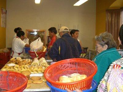 Fresh bread in Quetzaltenango