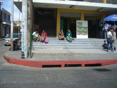 Quetzaltenango, the inhabitants call the town Xela