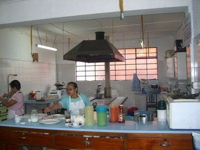 The kitchen at Modelo hotel