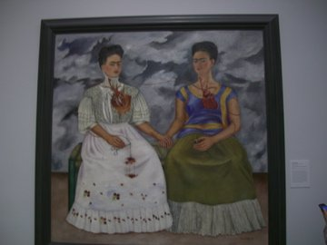 Lacma museum in Los Angeles, Frida Kahlo