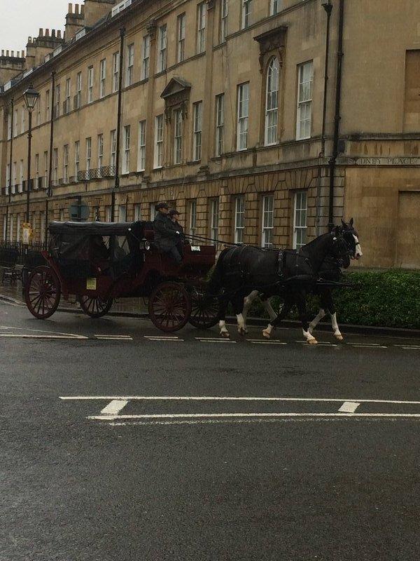 Around town at Bath
