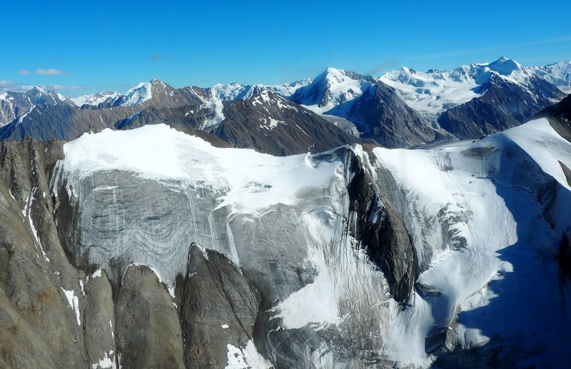 Un-named mountain in Kluane NP