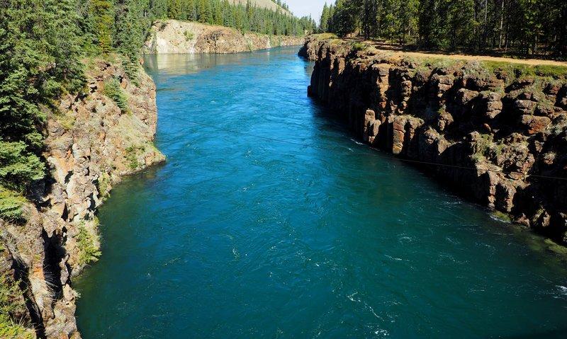 Mile Canyon Yukon River