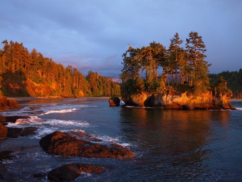 Last sunset in Washington
