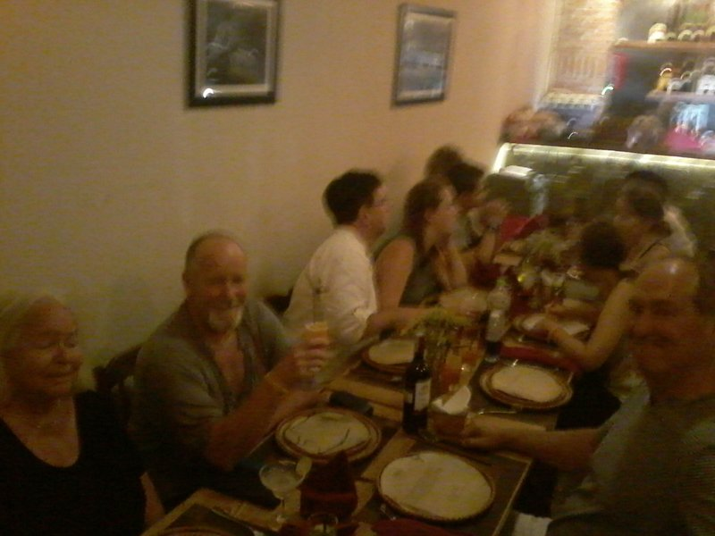 Dining in Hanoi