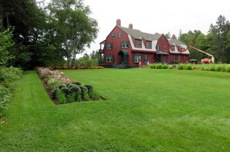 Roosevelt Cottage on Campobello Island, Canada