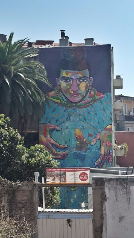 041417173747 mural or graffitti on side of building