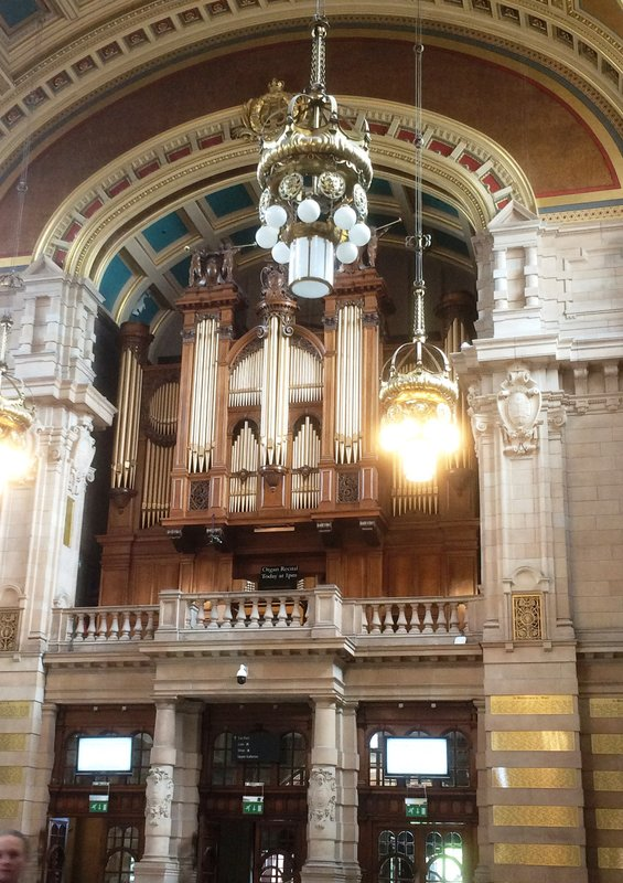 Organ at Kelvingrove