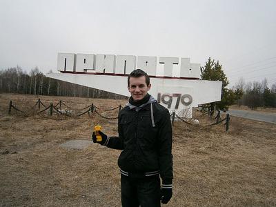 Entering Pripyat
