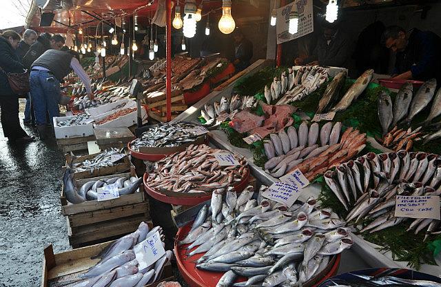 Fish market in Karakoy