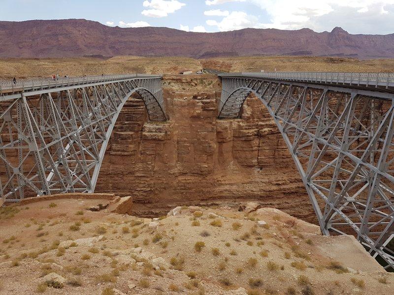 Navajo Bridge Nr Marble Canyon