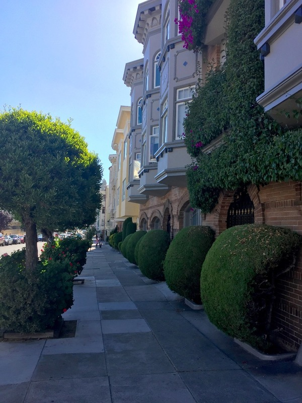Lombard St - the opposite end