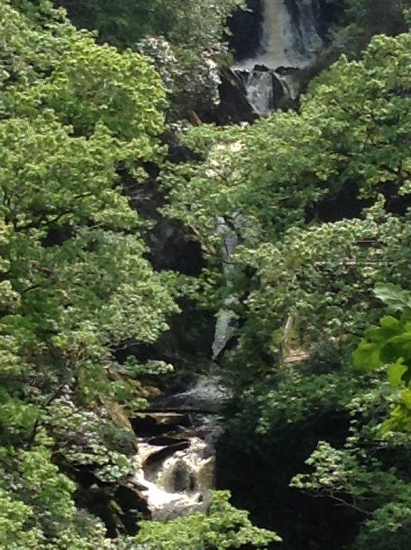 devil's bridge waterfall