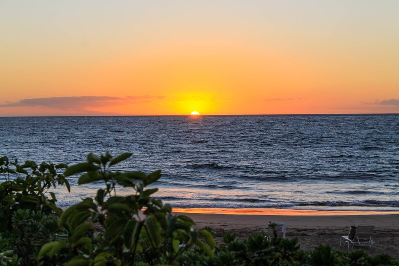 Maui Polo Beach sunset