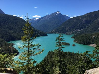 View from Diablo Lake Overlook