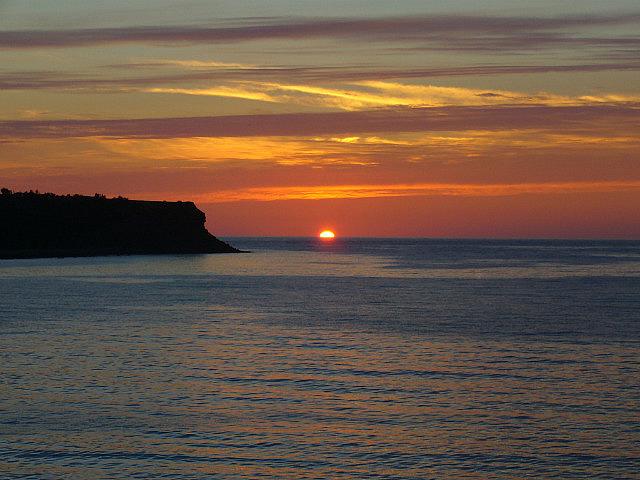 Sunset over Cheticamp - Cape Breton