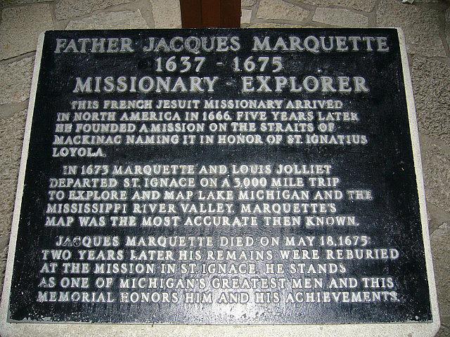 Father Marquette Memorial - Saint Ignace