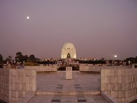 The Mausoleum Of the Founder of Pakistan at Karachi
