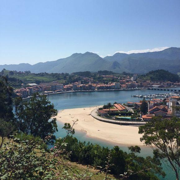 Ribadesella in Asturias (Spain)