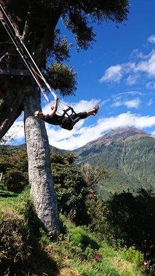 Mountain swinging
