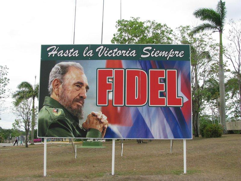 Fidel everywhere