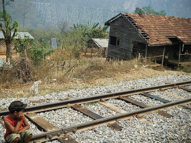 To Hsipaw (See-Paw), Myanmar by Train