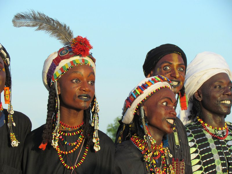 Woodabe Dancers at Gerowol Festival