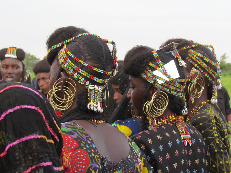 Woodabe Women at Gerowol Festival