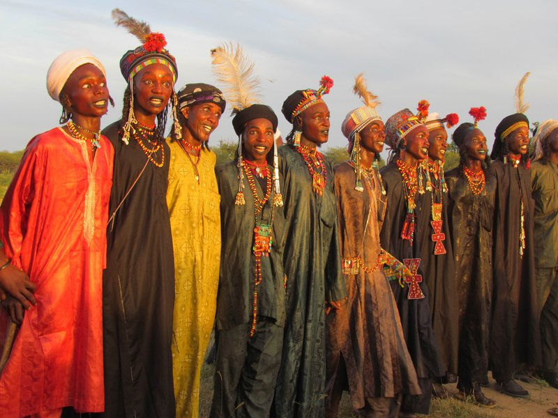 Woodabe Dancers at Gerowol Festival
