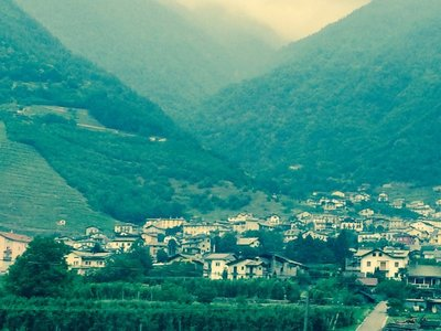 How do they build these villages in the mountains