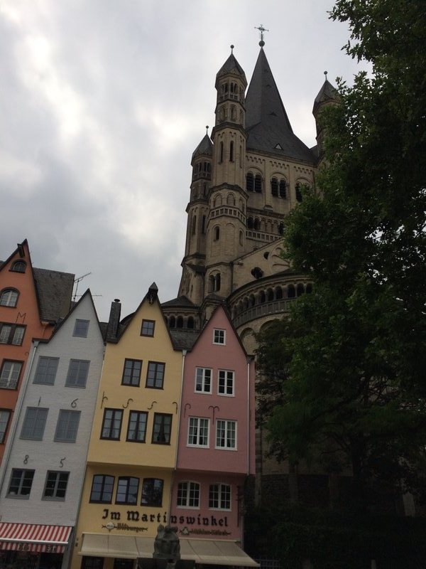 Store houses in Cologne