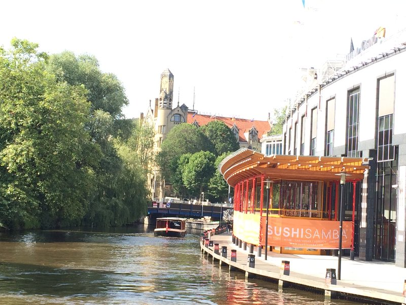First canal we saw