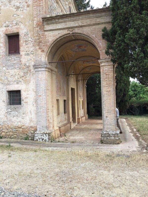 Scorgiano old villa