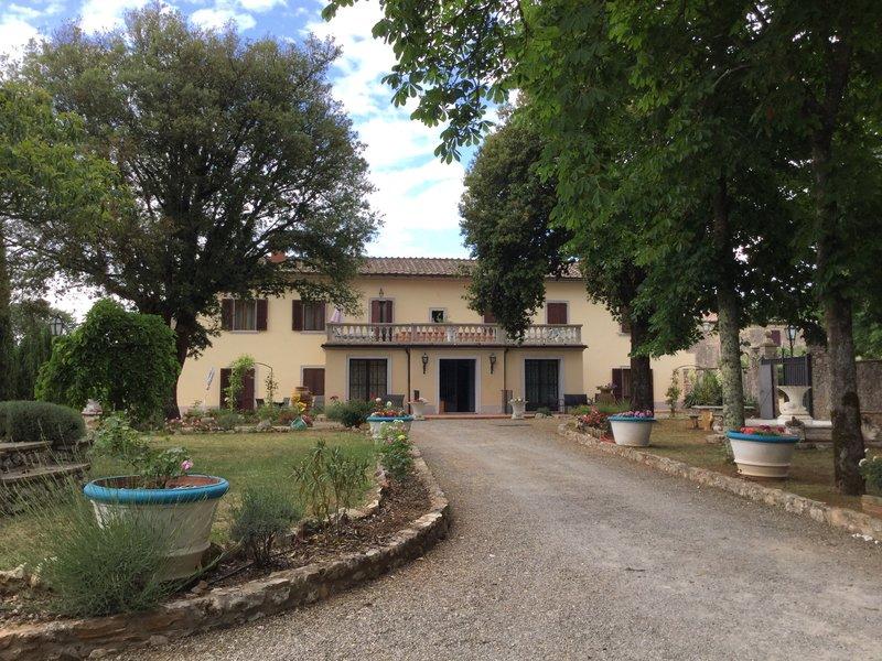 Villa Mucellena our accomodation